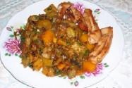 Овощное рагу «Деревенский огород»