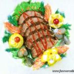 Говядина запеченная «Продельже»