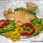 Соус к отварной рыбе из креветок
