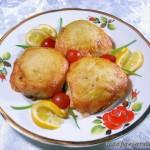 Картофельные шарики с мясным фаршем