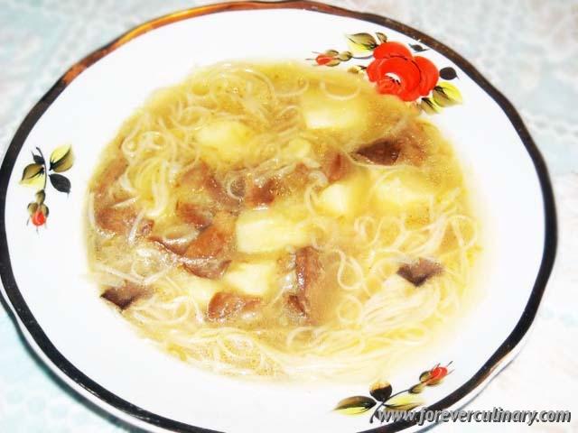 Рецепты супов из свежих белых грибов