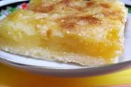 пирог яблочный со сметаной