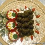 Долма с виноградными листьями саларская