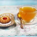 Чай с мёдом и лимоном