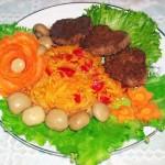 Гарнир овощная шинковка