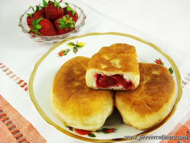 как приготовить пирожки с ягодами