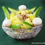 Салат с курицей и грибами Айроник