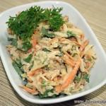 Салат с морковью и яблоками Призаль