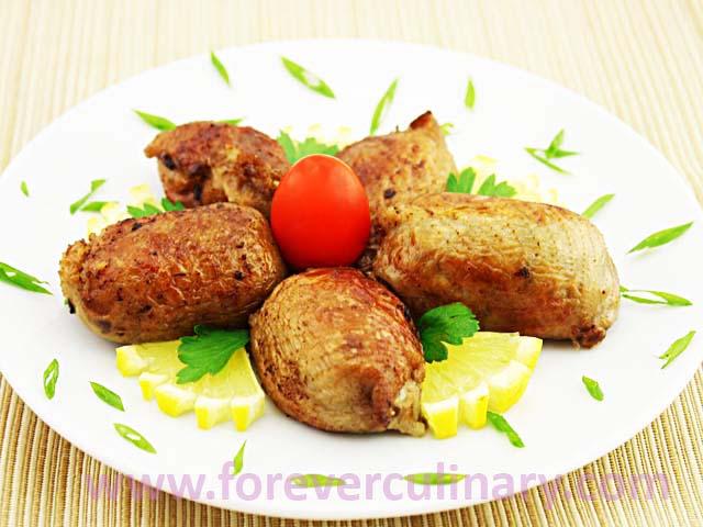 Шейки куриные фаршированные рецепт