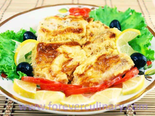 Филе судака в духовке рецепт в сметане