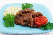 мясо запеченое в соусе Неланское