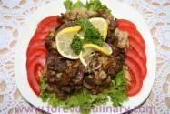 Говядина с грибами и цветной капустой
