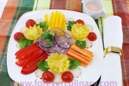 """салат из свежих овощей """"Букет"""""""