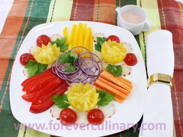 Рецепты из сырых овощей 160