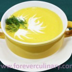 Суп-пюре из тыквы воскресный