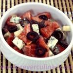 Салат с помидорами и сыром «Дор-Блю»