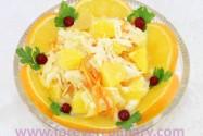 салат из капусты с апельсинами