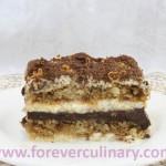 Торт Тирамису шоколадный с апельсиновой цедрой