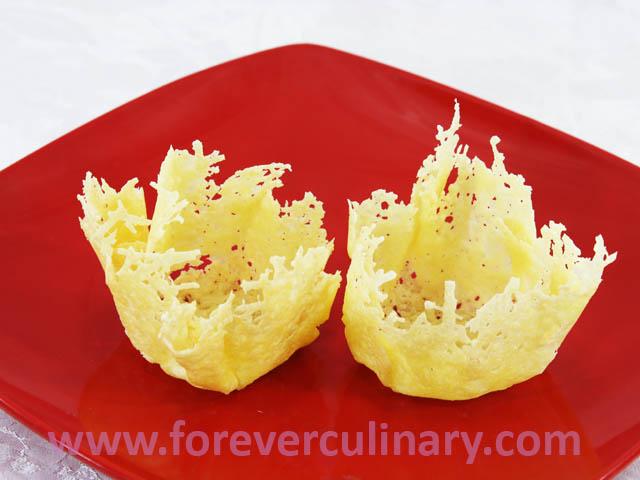 рецепт сырных стаканчиков